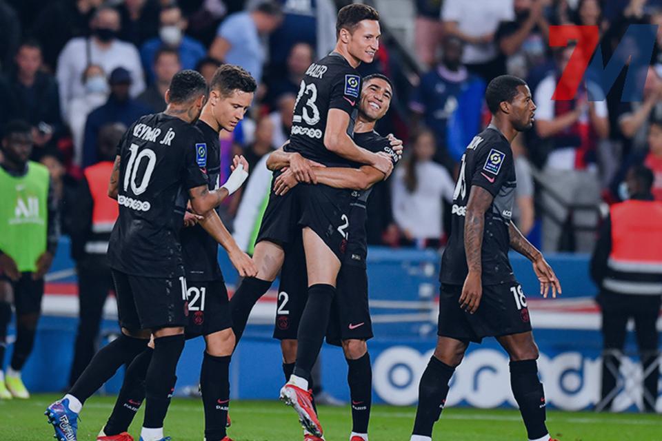 Highlights Ligue 1 ปารีส แซงต์-แชร์กแมง 2 : 0 มงต์เปลลิเย่ร์ 26/09/21