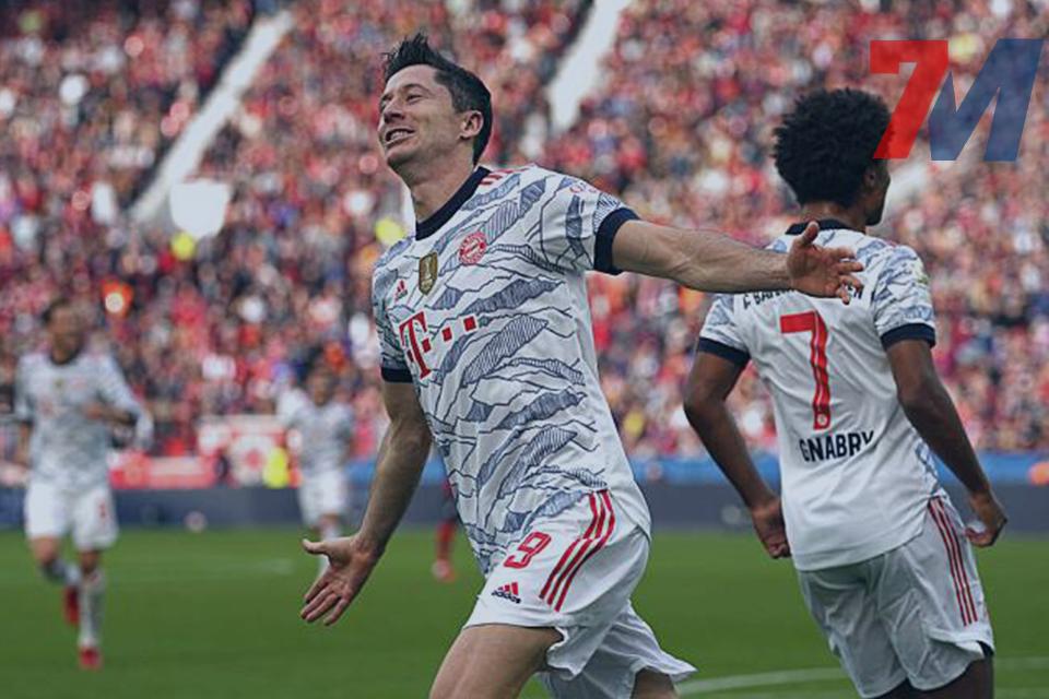 Highlights Bundesliga ไบเออร์ เลเวอร์คูเซ่น 1 : 5 บาเยิร์น มิวนิค 18/10/21